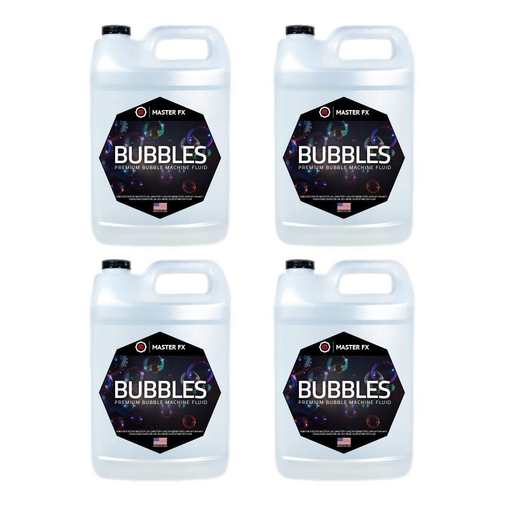Bubbles In a Bottle(EXTREME) - Premium Bubble Machine Juice Fluid - 4 Gallon