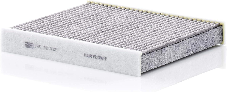 Original Mann Filter Innenraumfilter Cuk 22 032 Pollenfilter Mit Aktivkohle Für Pkw Auto
