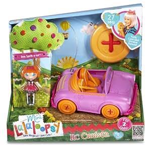 Lalaloopsy 510291 - Mini Lalaloopsy Coche Rc Car W/Exclusive Character, 27 Mhz (Bandai)