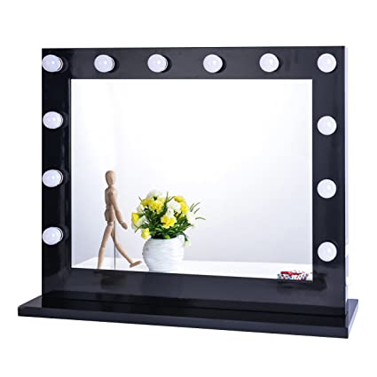 Rapture Diy Hollywood Style Led Mirror Light With Press Dimmer And Power Supply Makeup Mirror Vanity Led Light For Dressing Table Wall Lamps