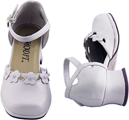 Tuxgear Girls White Dress Shoes