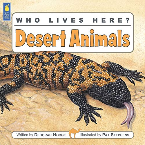 Who Lives Here? Desert Animals