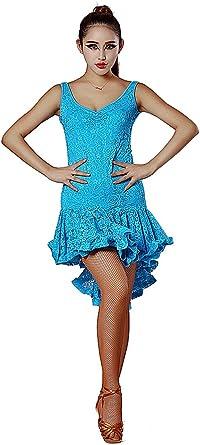 SCD7040Black Pink or Purple Women Ballroom Latin Rhythm Salsa Swing Dance Dress