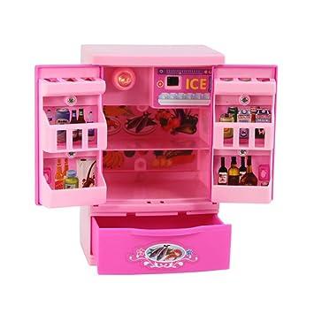 TOYMYTOY Mini Kühlschrank Spielzeug, Kreative Haushaltsgeräte ...