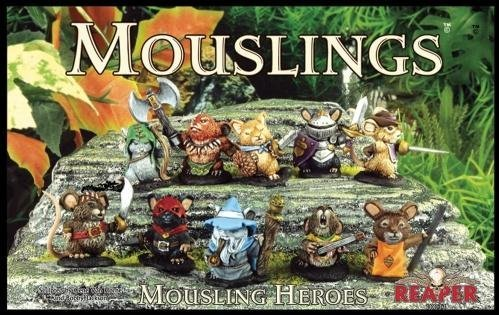 Reaper Miniatures Mousling Heroes Box Set by Reaper