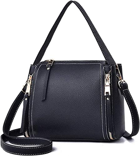 New lady women Leather Handbags Shoulder Messenger Bags Satchel Tote Purses Bags