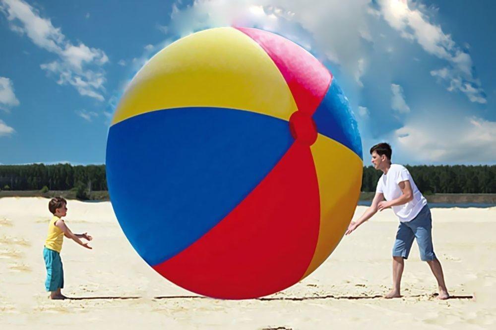 大人数で楽しむのにおすすめのビーチボール超巨大ビーチボール【直径2m】