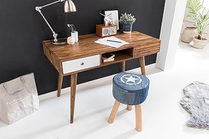 Home collection réparateur bureau blanc  cm table