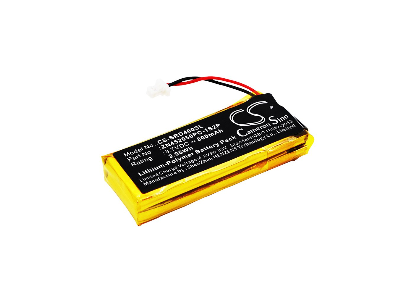 VINTRONS 800mAh Battery for SCHUBERTH C3