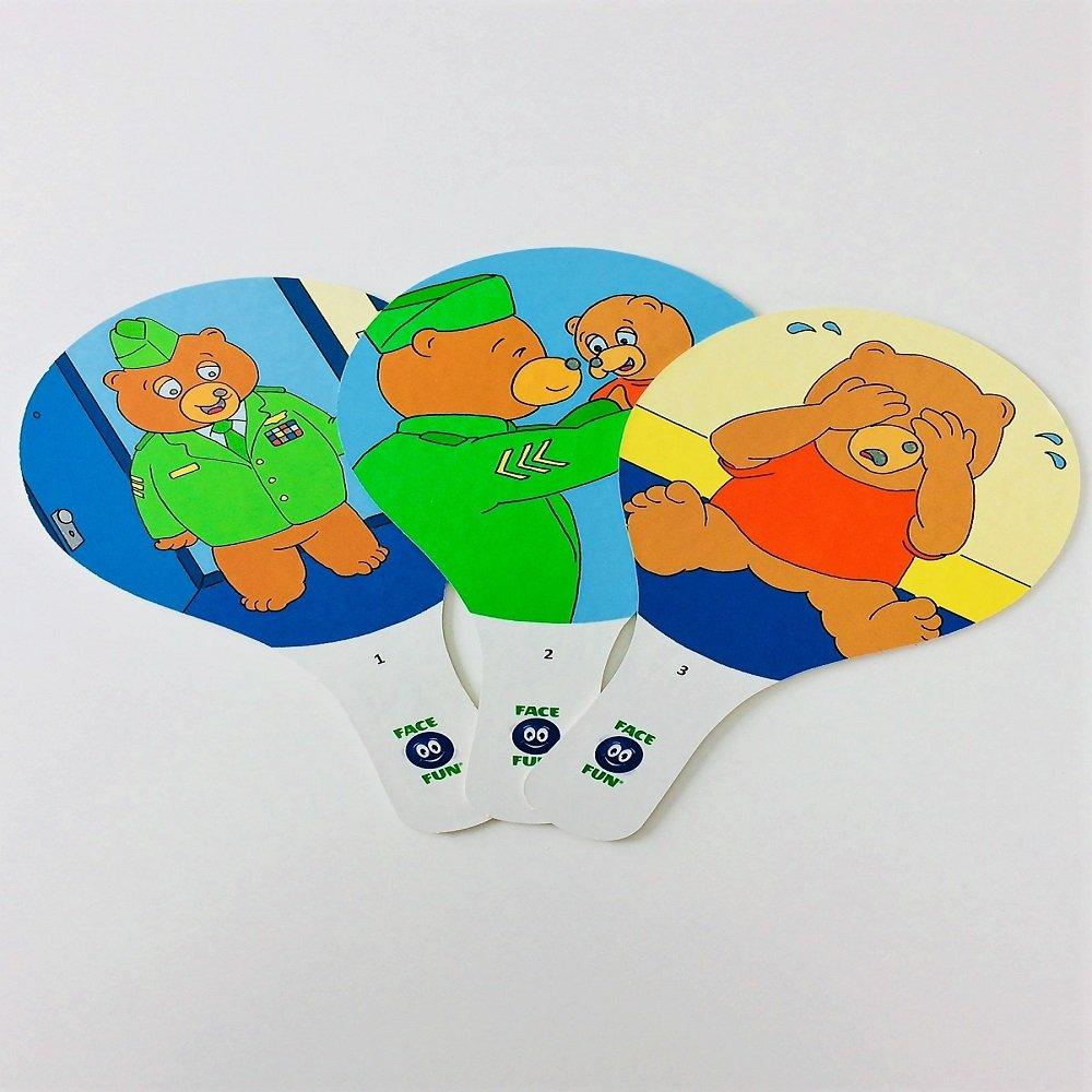 Amazon.com: Face Fun Flashcard Story - Bye, Bye Baby Bear ...