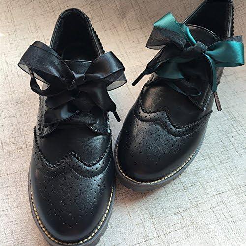 かわいい シューレース 靴ひも リボン紐 レースアップ レース お洒落 スニーカー靴ひも ブーツタイプ 10点セット 全13色