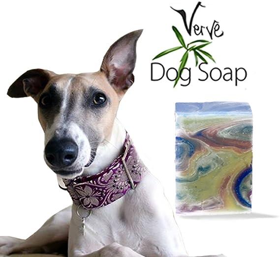 Champú para perro, jabón de lavanda y césped de limón, orgánico hecho a mano, jabón natural de 110 g: Amazon.es: Belleza