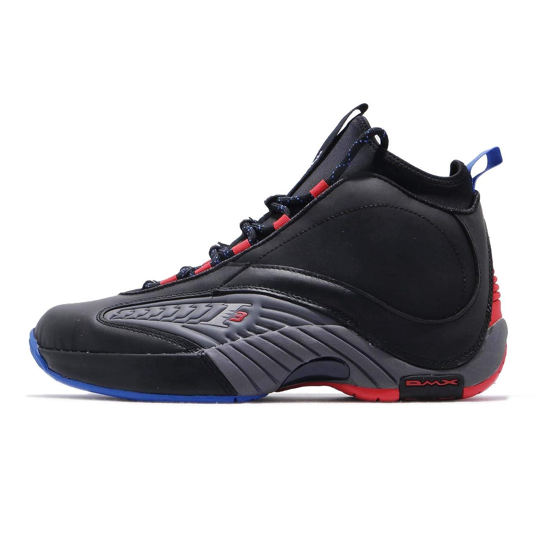 [リーボック] アンサー IV.V 4.5 メンズ バスケットボール シューズ Answer IV.V CN5841 [並行輸入品] B07KPW7K32 BLACK/ASH GREY/RED/BLUE 27.5 cm