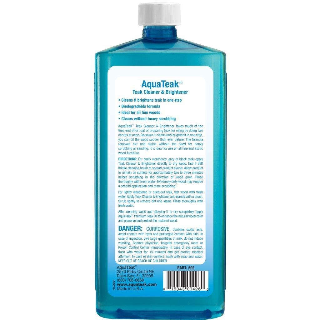 AquaTeak Teak Cleaner & Brightener by AquaTeak (Image #2)