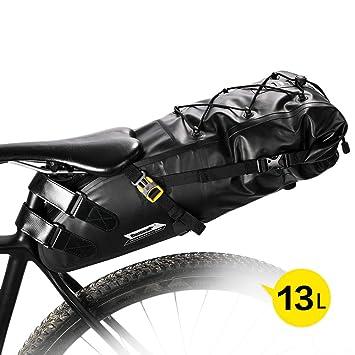 RockBros bicicleta Alforja bolso bicicleta 100/% impermeable 10l bolso de asiento