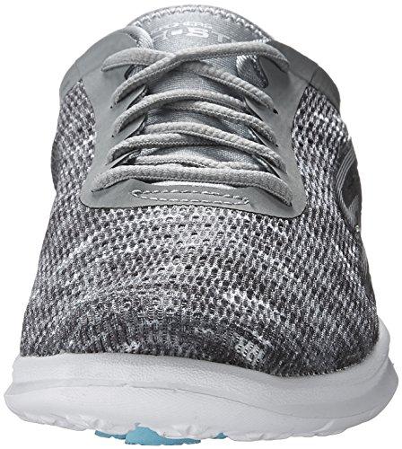 Skechers Performance Women's Go Step Lace-Up Walking Shoe Gry/Wht outlet big discount footlocker finishline online xX6X0GStLJ