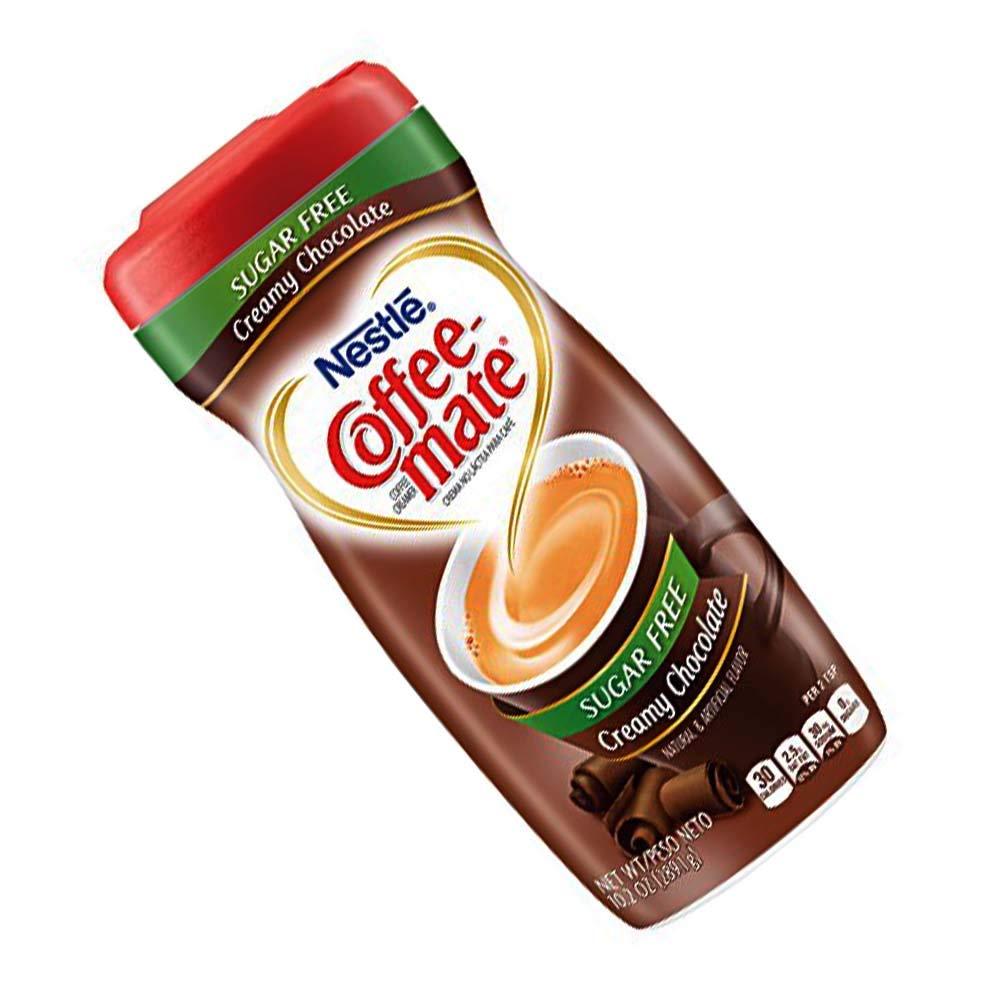 Coffee-mate Coffee Creamer Sugar Free Creamy Chocolate, Pack of 1 (10.2 Ounce)