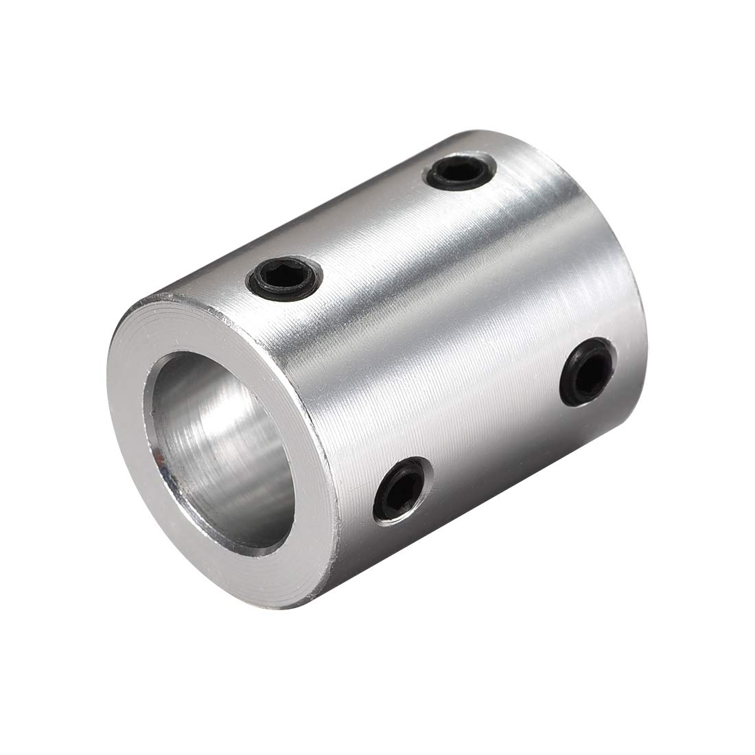 uxcell 3mm to 4mm Bore Rigid Coupling Set Screw L26XD10 Aluminum Alloy,Shaft Coupler Connector,Motor Accessories