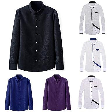 b49bba810497f galmajLj Men 's Shirts Spring Business Men Plus Size Long Sleeve Turn Down  Collar Shirt