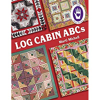 Michell Marketing Marti Michell Log Cabin ABCs Bk: Arts, Crafts & Sewing