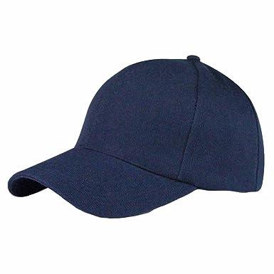 Gorras de Hombre Gorras Beisbol Gorras Snapback Gorras de Hombre Verano Gorra de béisbol de Moda Camuflaje Unisex Snapback Hat Hip-Hop Ajustable (Azul ...