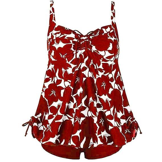Trajes De BañO Mujer Tallas Grandes Dos Piezas Puntos ImpresióN Monokini Playa BañAdores NiñA 2019 Push Up Bikini Conjunto BañAdor Mujers NatacióN: ...