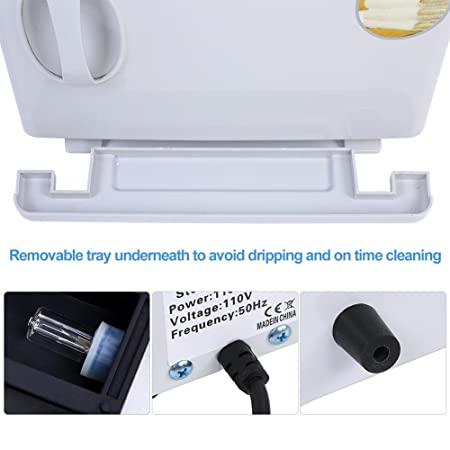 2 en 1 Esterilizador estetica 8L Calentador de Toallas UV Esterilizador Gabinete de Belleza Salon Spa Restaurante Accesorios de Hotel Equipo de Belleza ...