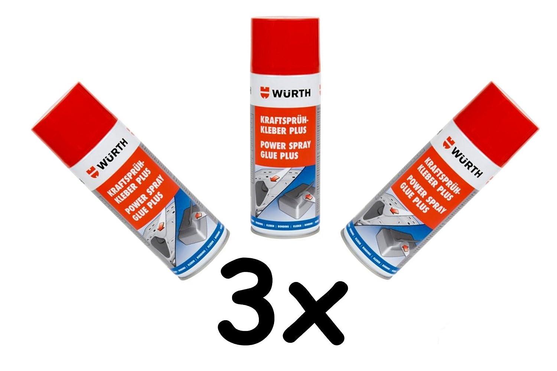 Würth | Colla spray 3x 400ml | Extra forte