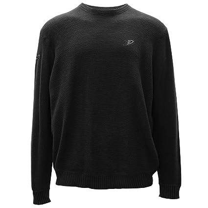 Levelwear LEY9R NHL Anaheim Ducks Adult Men Muskoka Crew Optic Crest  Crewneck Sweater d3b864a7c