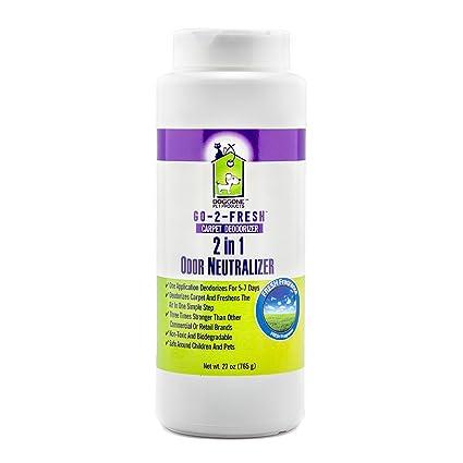 Carpet Deodorizer, Odor Neutralizer & Room Air Freshener by Doggone Pet Products - Neutralizes Funky