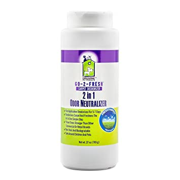 Carpet Deodorizer, Odor Neutralizer & Room Air Freshener by Doggone Pet  Products - Neutralizes Funky House Odors Caused By Trashcans, Cigarettes,  Pet
