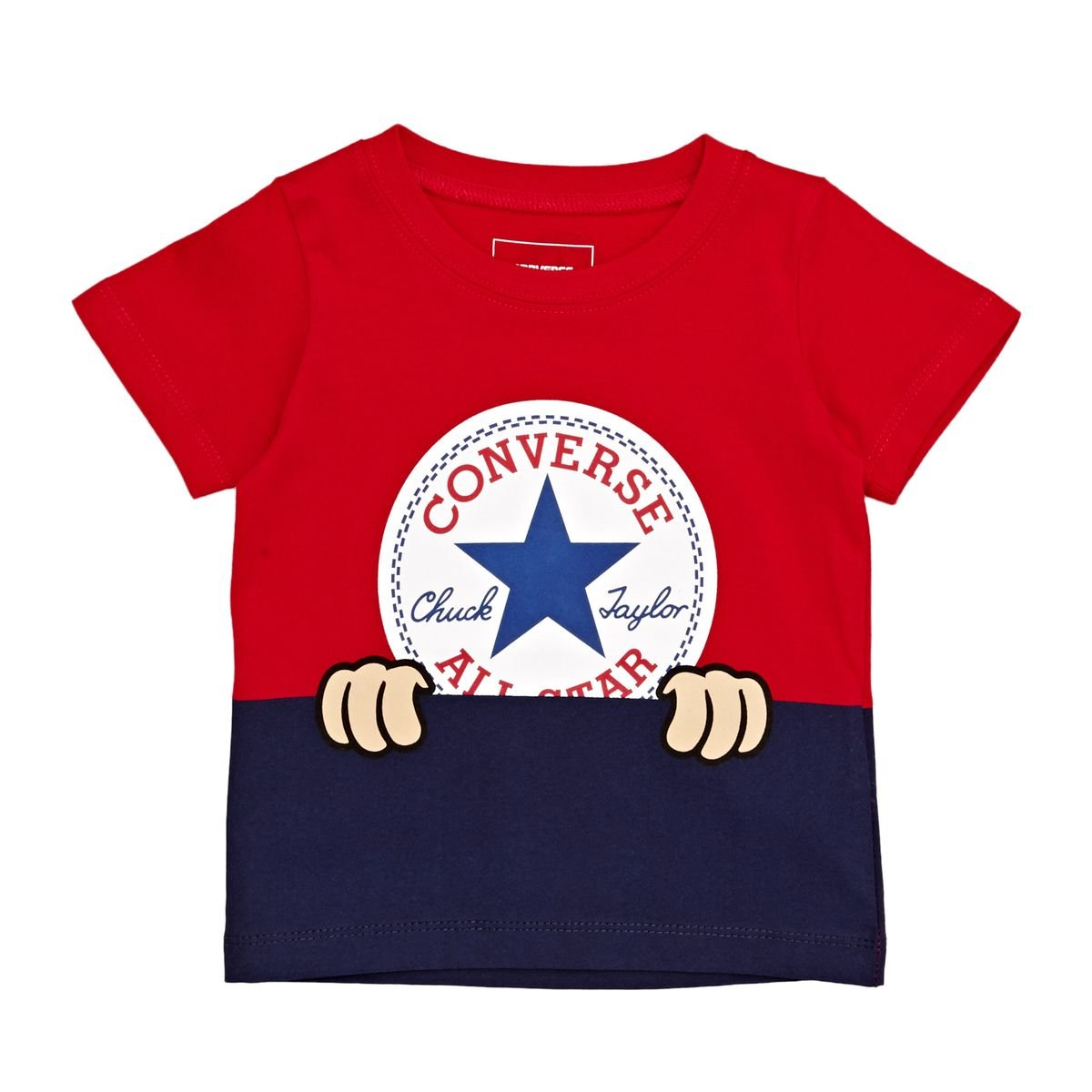 Converse Baby Peeping Chuck Taylor Patch Tee