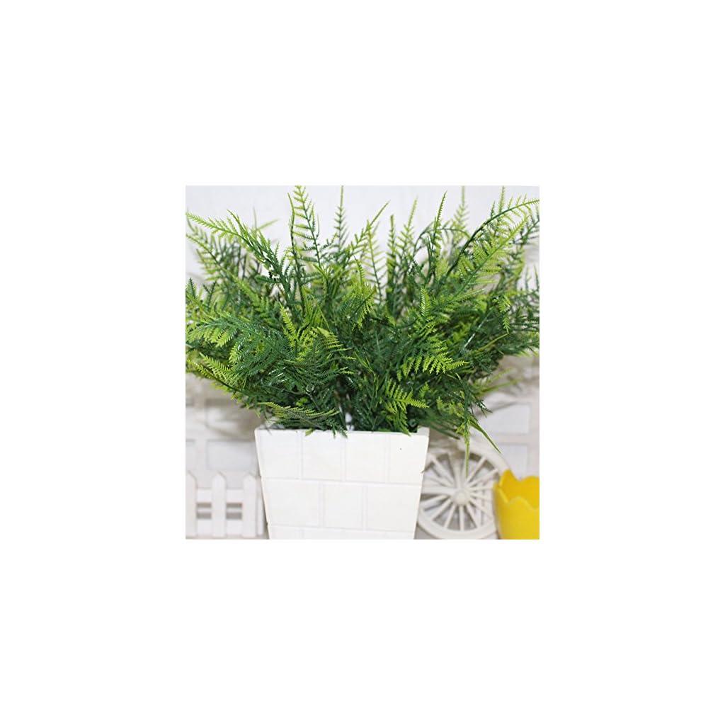 AlexGT-Plastic-Green-7-Stems-Artificial-Asparagus-Fern-Bush-Plants-Light-Green-Leaf-Foliage-Green-plant-decoration-for-home-store