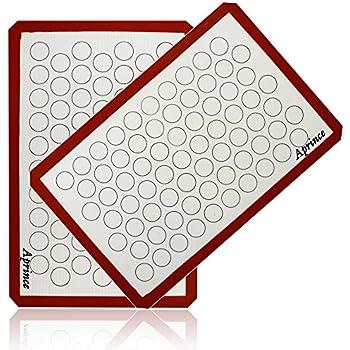 macaron baking sheet template - lekue macaron mat baking mats kitchen dining