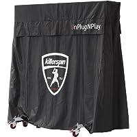 Killerspin MyT - Funda para mesa de ping pong, para interior y exterior, cubierta vertical para tenis de mesa, repelente al agua, protección UV, resistente al viento, ventilación para prevención de moho, ajuste de velcro ajustable