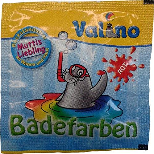 Valino Badefarben rot, 10er Pack (10 x 1 Stück)