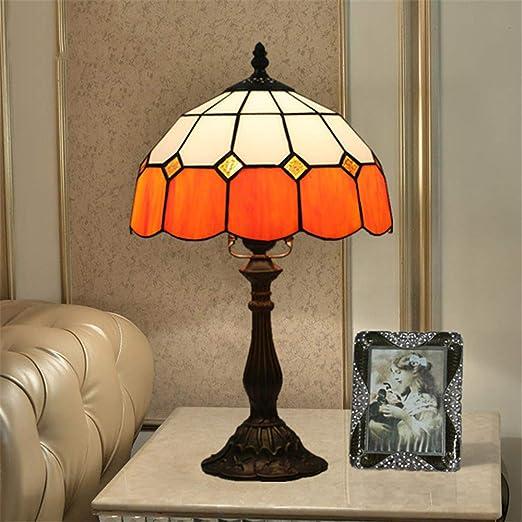 RENYAYA Lámpara Tiffany Style de 10 Pulgadas, lámpara de Mesa ...