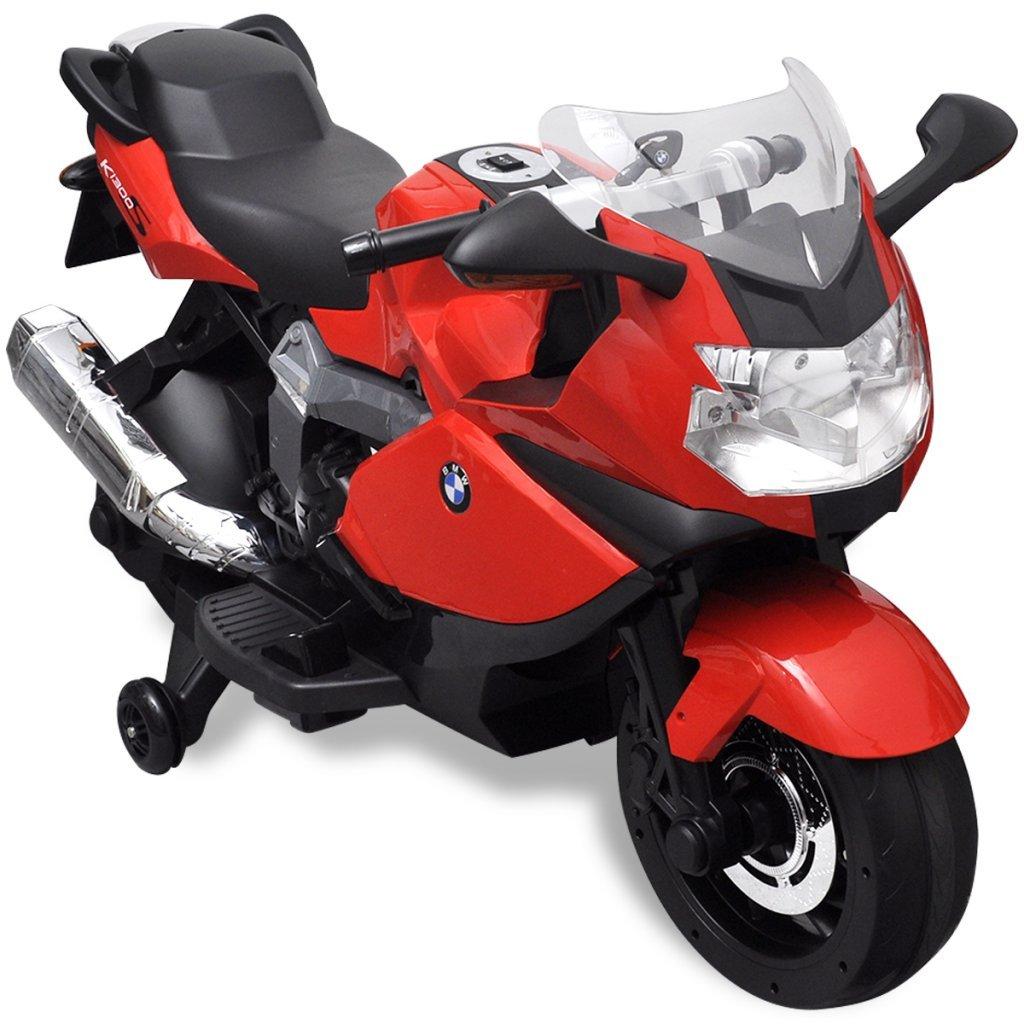 vidaXL Kindermotorrad Rot Elektromotorrad Elektroauto Kinderfahrzeug Motorrad Kinderfahrzeuge