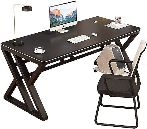 TnSok Mesa de Juego Ronda luz de la Esquina Ordenador de Escritorio de Escritorio Principal de Simple Escritorio de Oficina Dormitorio Estudiante Desk E-Sports Aprendizaje turística Juego Desk: Amazon.es: Hogar