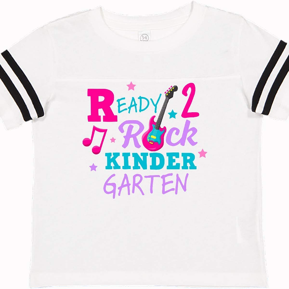 inktastic Back to School Ready 2 Rock Kindergarten Toddler T-Shirt