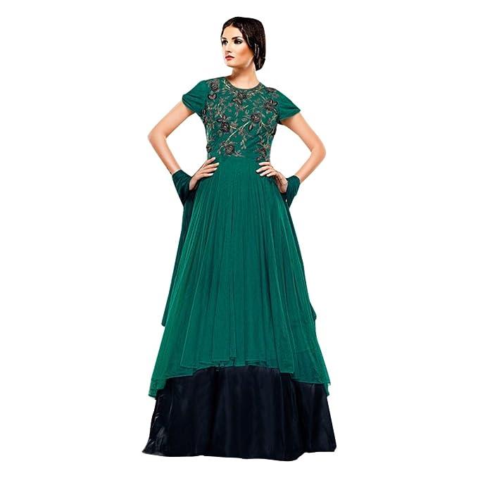 Costume su misura vestito anarkali salwar abbigliamento da festa vestito da  donna ragazze che sposano donne fda6fbe74a5