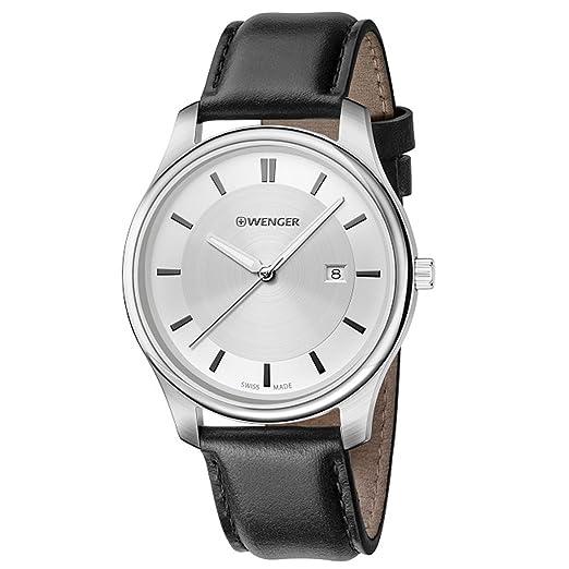 Amazon.com: Wenger city classic 01.1441.102 Mens swiss-quartz watch: Wenger: Watches