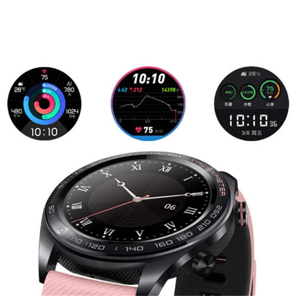 certainPL Huawei Honor Watch Dream Smart Watch, Multiple Sports Modes, Heart Rate AI Monitor, GPS, Alipay/NFC Bus Card Payment, 1.2'' AMOLED Color Screen (Black) by certainPL (Image #4)