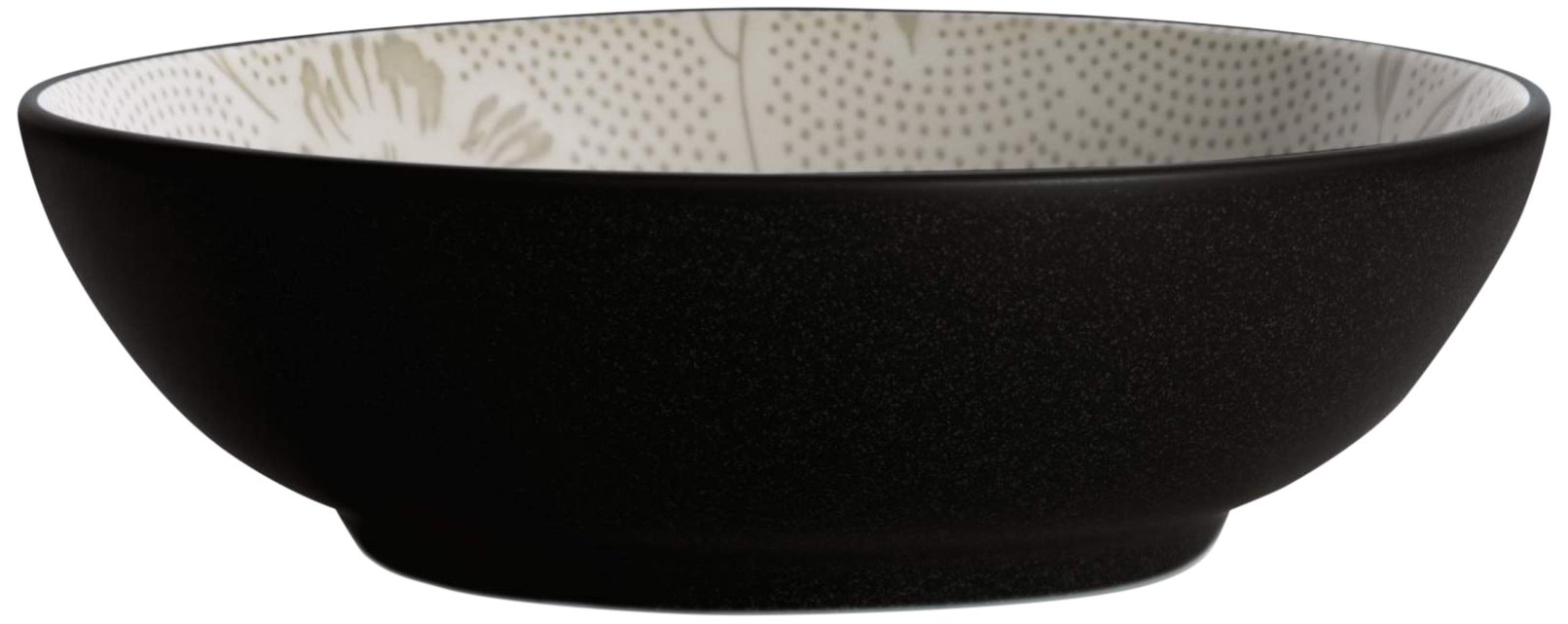 Noritake Colorwave Bloom Round Vegetable Bowl, 64-Ounce, Graphite