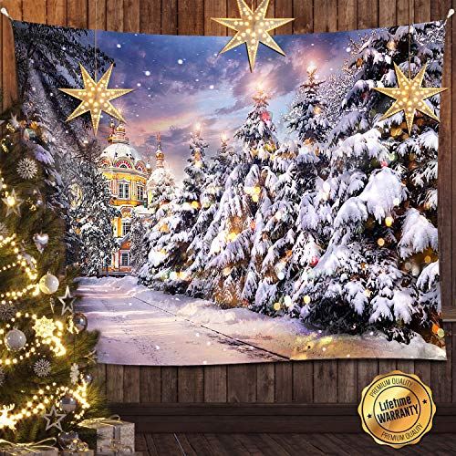 Holiday Tapestry - Voliray Wall Tapestry, 80 X 60 inches Tapestry Wall Hanging, Tapestries Hippie Wall Hangings Launched Art Nature Home Wall Decorations for Bedding Living Room Bedroom Dorm Decor