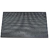 "Durable Corporation Workstation Lightweight General Purpose Anti-Fatigue Mat, 36"" Width x 60"" Length x 0.5"" Thickness, Black"