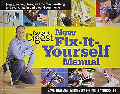 Fix-It-Yourself Manual