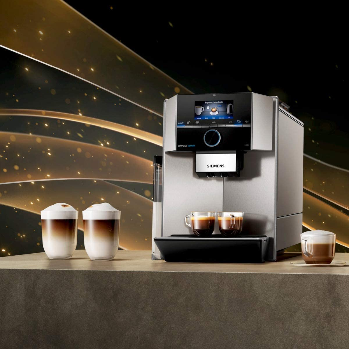 Siemens EQ.9 plus connect s500 - Smarte Kaffeemaschine
