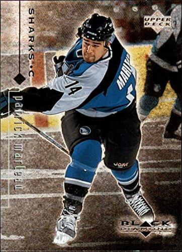 1998-99 Black Diamond San Jose Sharks Team Set No SP 4 Cards Marleau