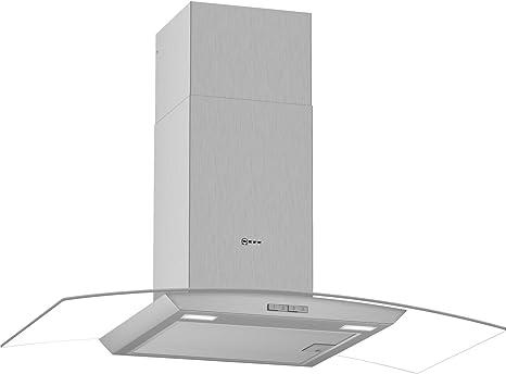 NEFF D94ABC0N0B - Campana extractora de chimenea integrada (acero inoxidable): Amazon.es: Grandes electrodomésticos